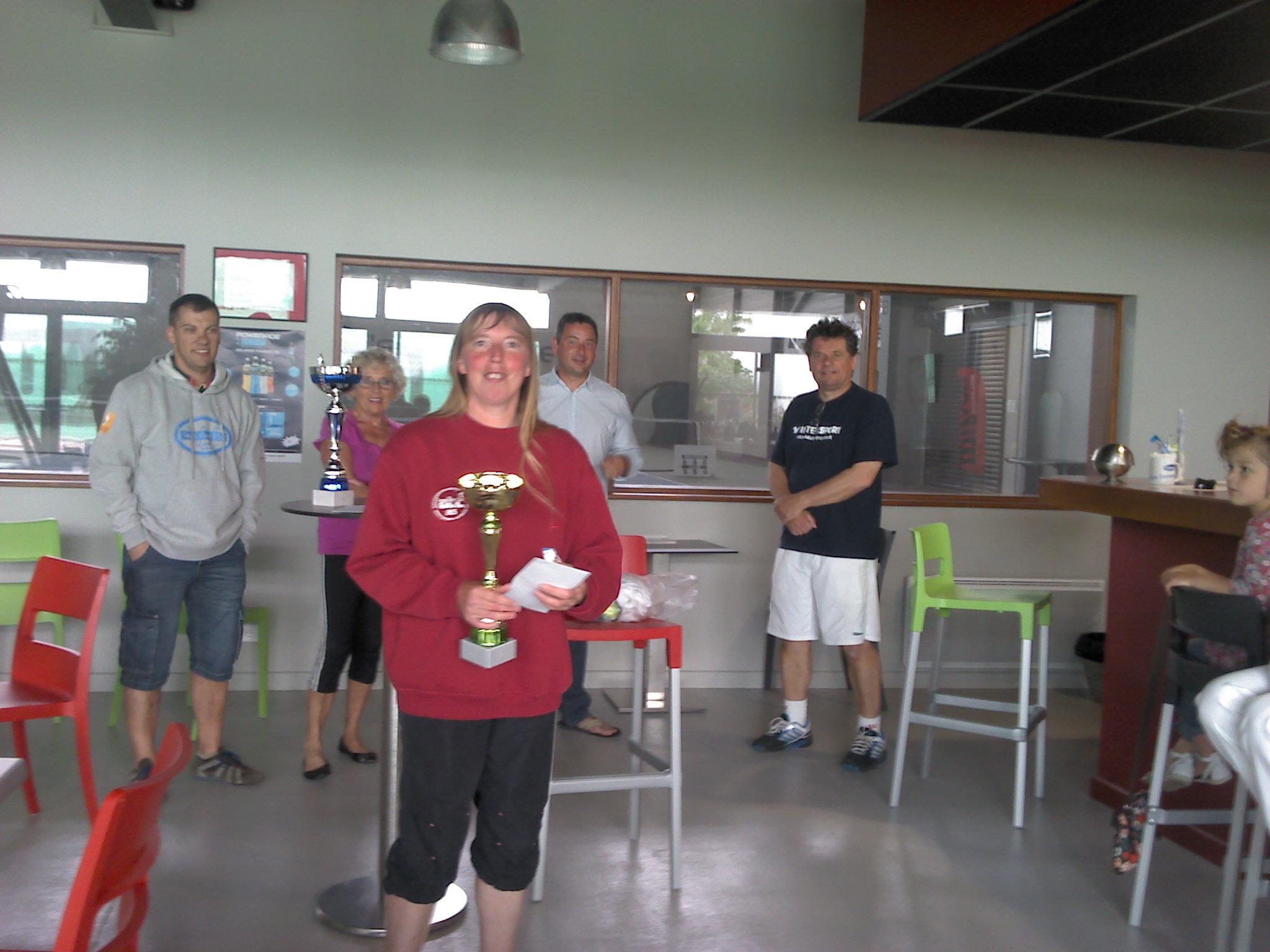 Odile Praud Finaliste Tournoi Interne 2012
