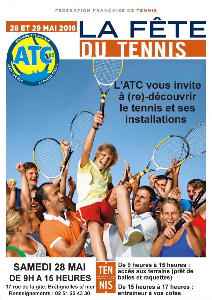 Fête du tennis 2016 Format A4 affiches