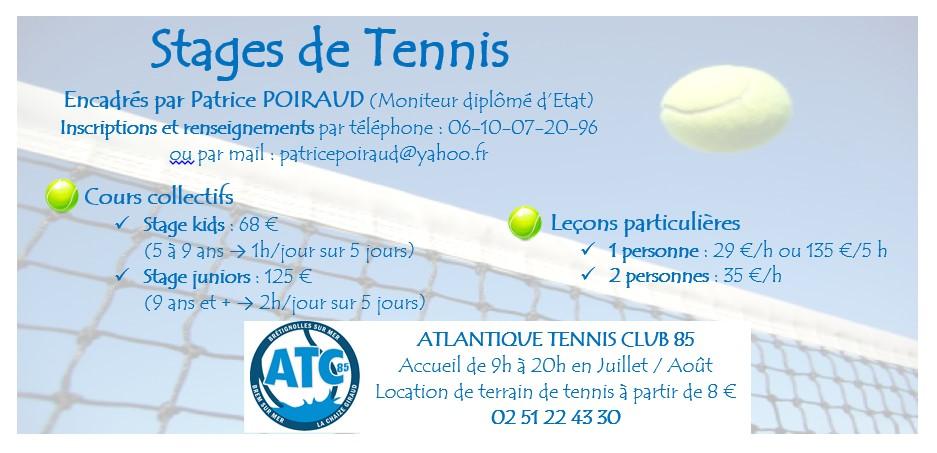 Stage tennis bretignolles