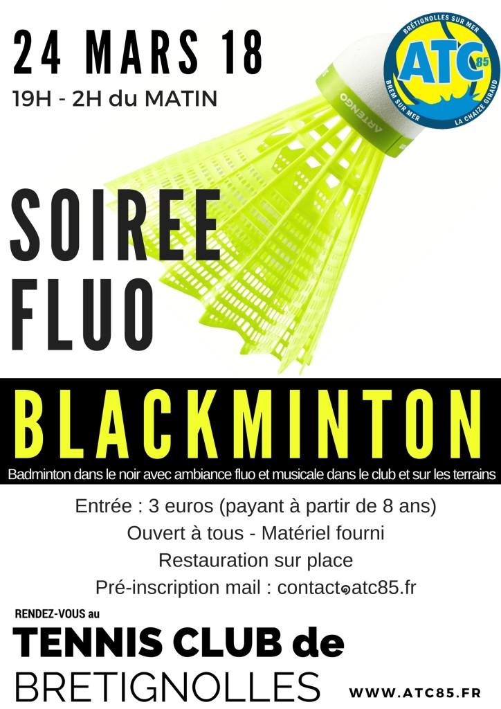 soirée fluo blackminton